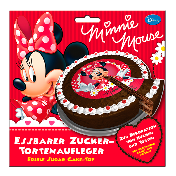 Tortenaufleger Minnie Mouse Fur Kuchen Und Torten Attraktive