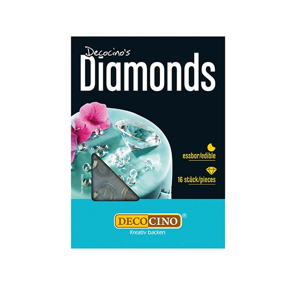 Diamanten Weiß 16 Stück