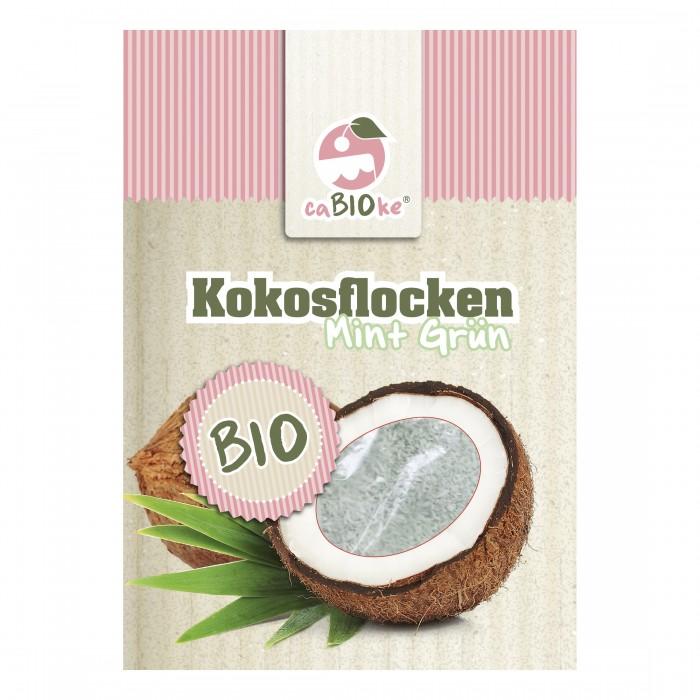 Bio Kokosflocken Mint Grün