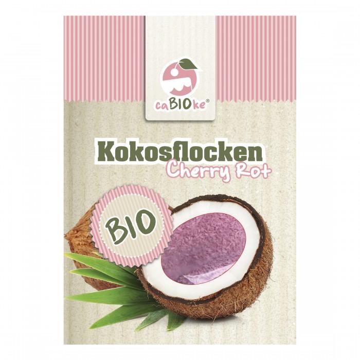 Bio Kokosflocken Cherry Rot