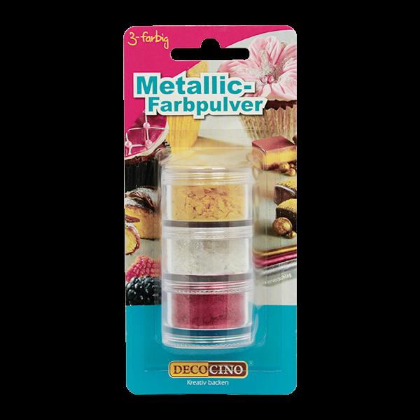 Metallic-Farbpulver