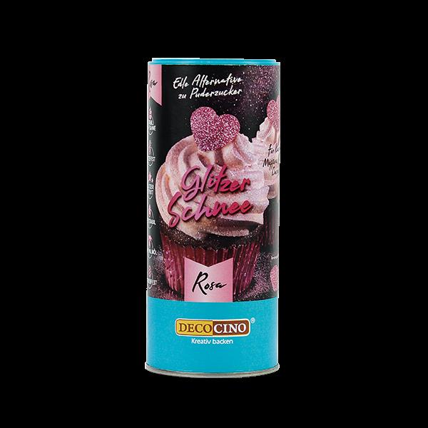 Glitzer-Schnee Rosa