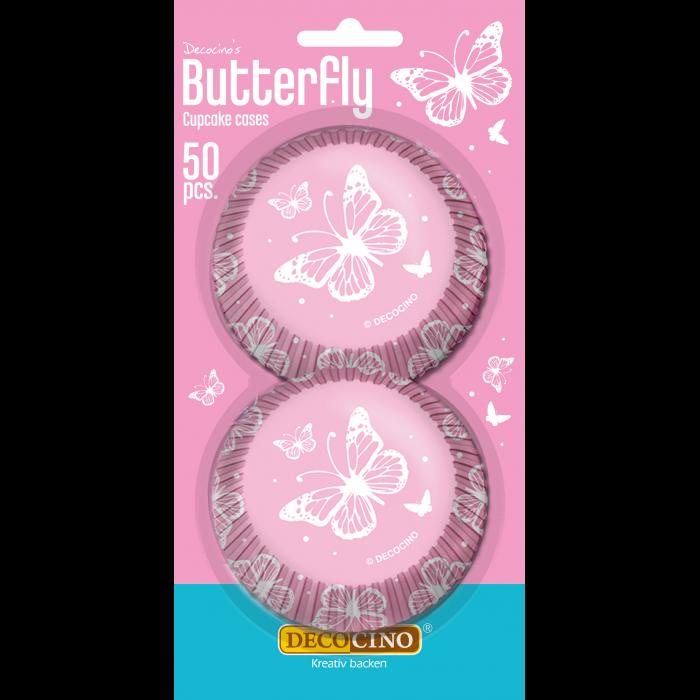 Muffinförmchen Butterfly 50 Stück